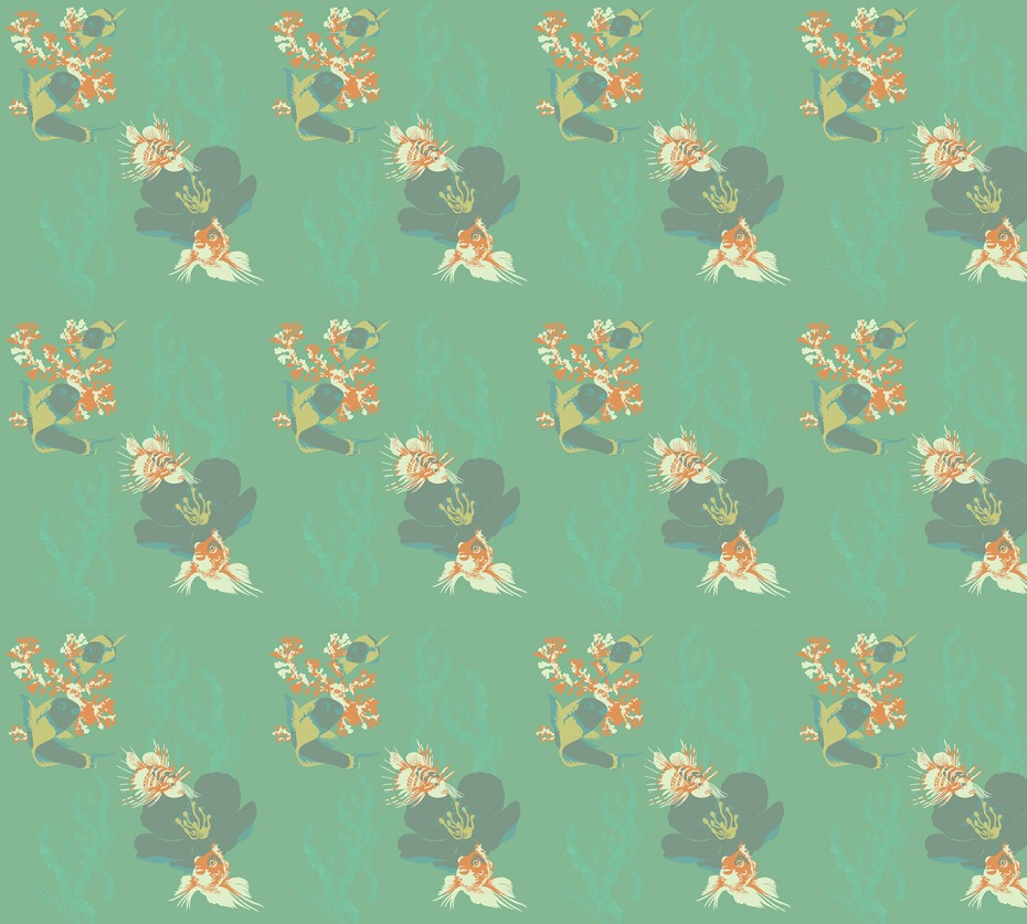 Princes & Crows - Decorative wallpaper